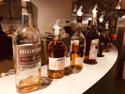 Verschillende whiskys