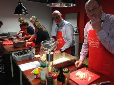 Beer en Burgers kookworkshop, een 'heerlijk avondje'