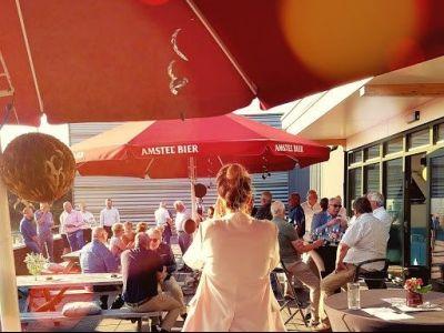Een zonnige, Jazzy Business Evening!
